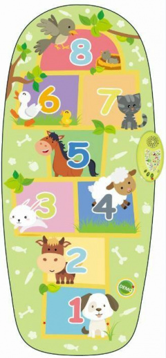 Game Mat Class Animals Green