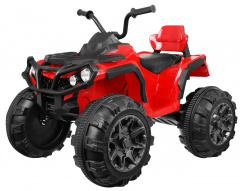 Quad ATV Red