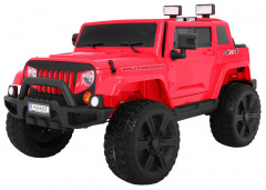 Mighty Jeep 4x4 Red