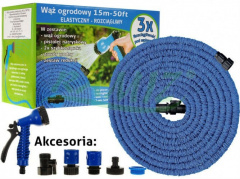Garden hose 15 m. Stretchable