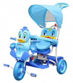 Tricycle Duck blue