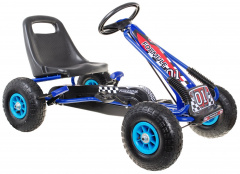 Go-kart AIR Blue Pedals