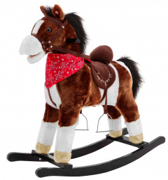 Pony Rocking Horse Dark Brown