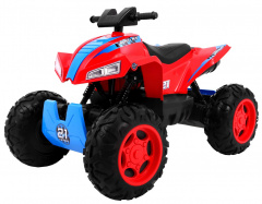 Quad Sport Run 4 x 4 Red