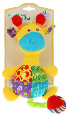 Plush Animal Music Box Giraffe