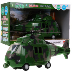 Military helicopter with sounds Green