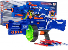 Blaze Storm Machine Gun Blue