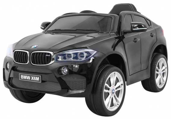 Vehicle BMW X6M Black