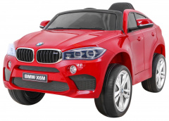 Vehicle BMW X6M Painted Red