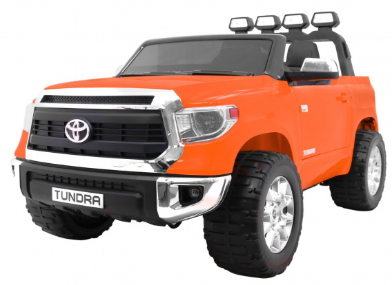 Vehicle Toyota Tundra XXL Orange