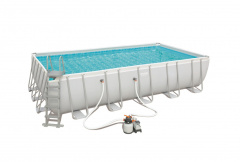 Rack swimming pool 22FT 671x366x132 cm POWERSteel BESTWAY