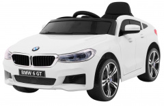 Vehicle BMW 6 GT White
