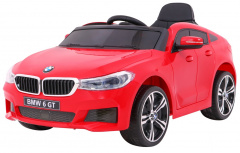 Vehicle BMW 6 GT Red