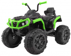 Quad ATV Black And Green