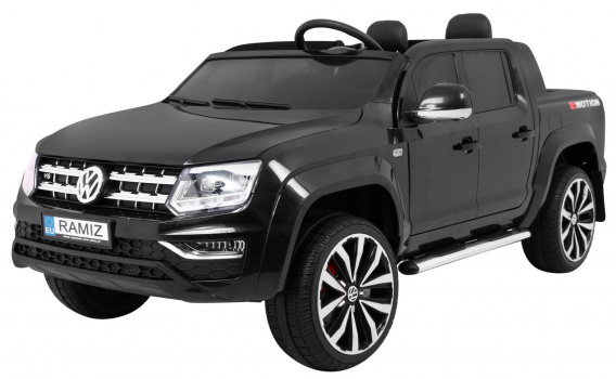 Vehicle Volkswagen AMAROK Pickup Truck Black