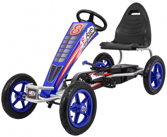Pedal Gokart Full Ahead AIR Blue