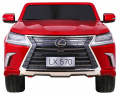 Vehicle Lexus LX570 Painted Red