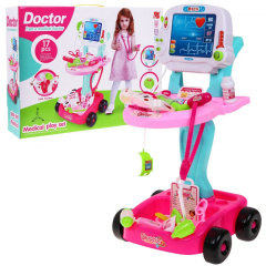 Trolley Small Doctor Pink