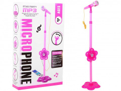 Karaoke Microphone With Flower STAR PARTY