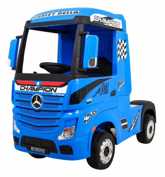 Mercedes Benz Actros Blue