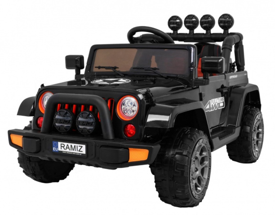 Full Time off-road vehicle 4WD Black