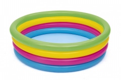 Pool Paddling Rainbow Colors 1.57/46cm BESTWAY