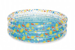 Pool Pool Transparent Paddling Pool 1.22/25cm BESTWAY
