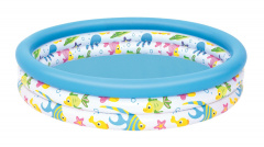 Pool Fish Paddling Pool 1.22/25cm BESTWAY