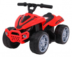 Quad Little Monster Red Vehicle