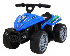 Quad Little Monster Blue Vehicle