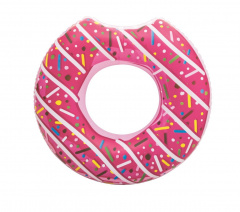 BestWAY Swimming Wheel Donut Pink