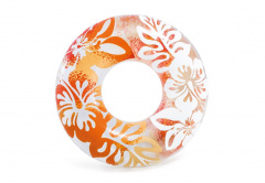 Flower Wheel Wir 91cm INTEX Orange