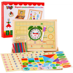 Magnetic Wood Board For Learning Accessories