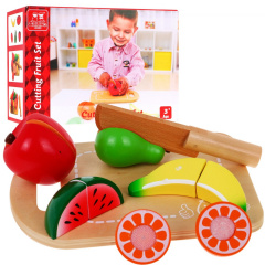 Set Of Cutting Wood Fruits Vegetables Board